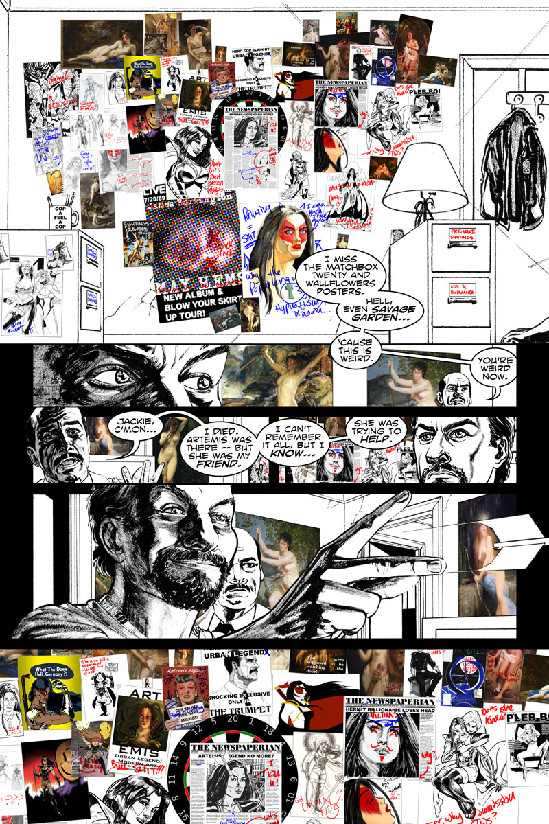 Issue 5, Page 4 - Obsession. By Jack Dawson.