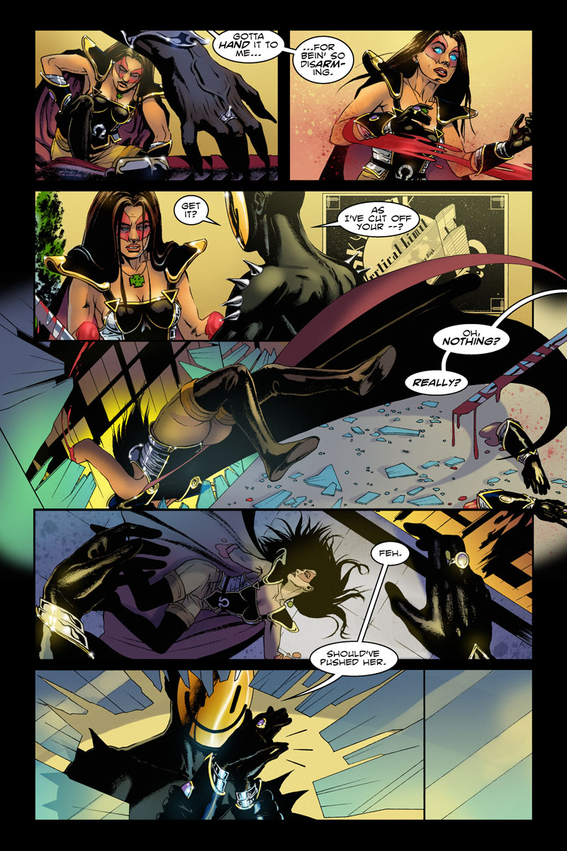 Issue 1, Page 13 - Suicide By Vampire.