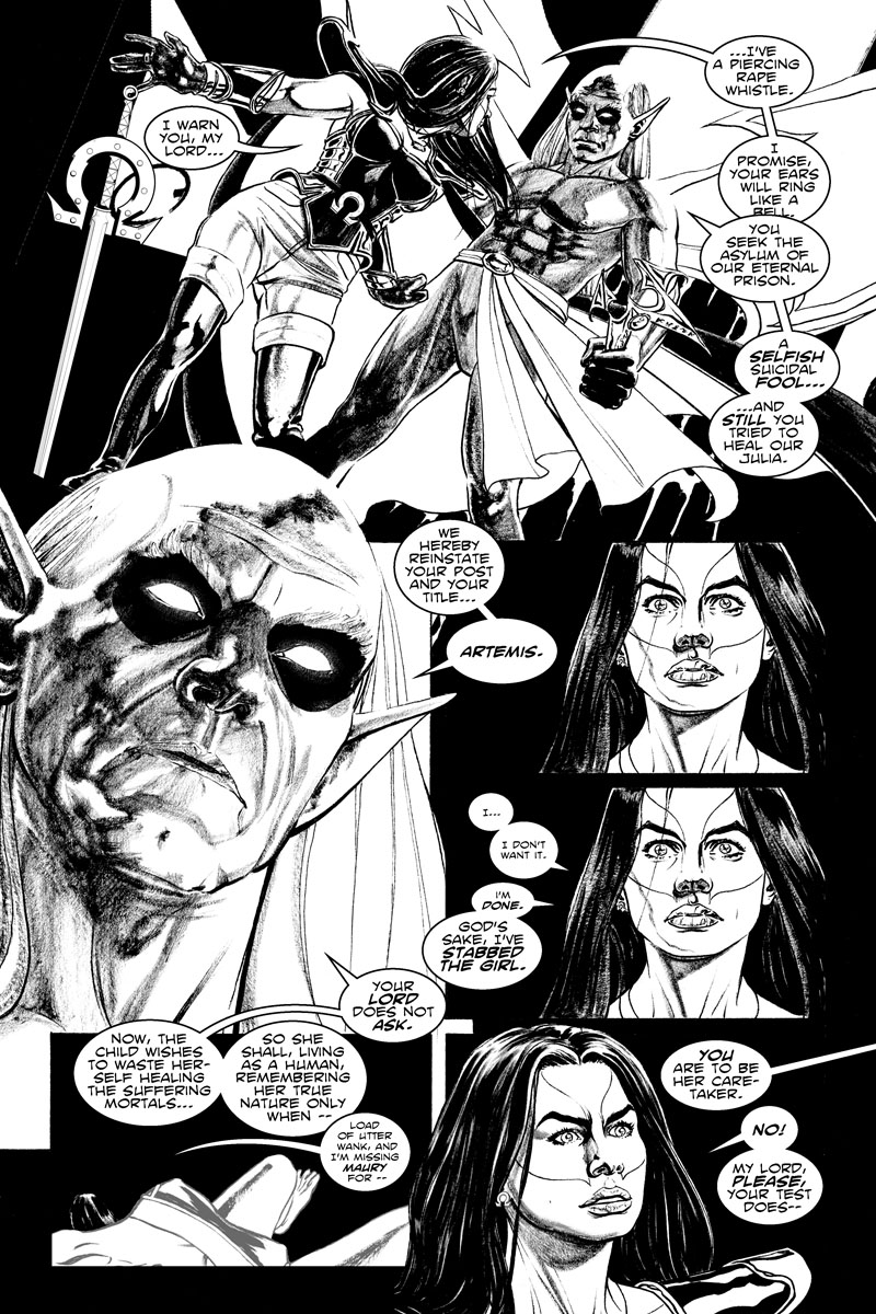 Issue 3, Page 15 - I'm Missing Maury for This Crap.