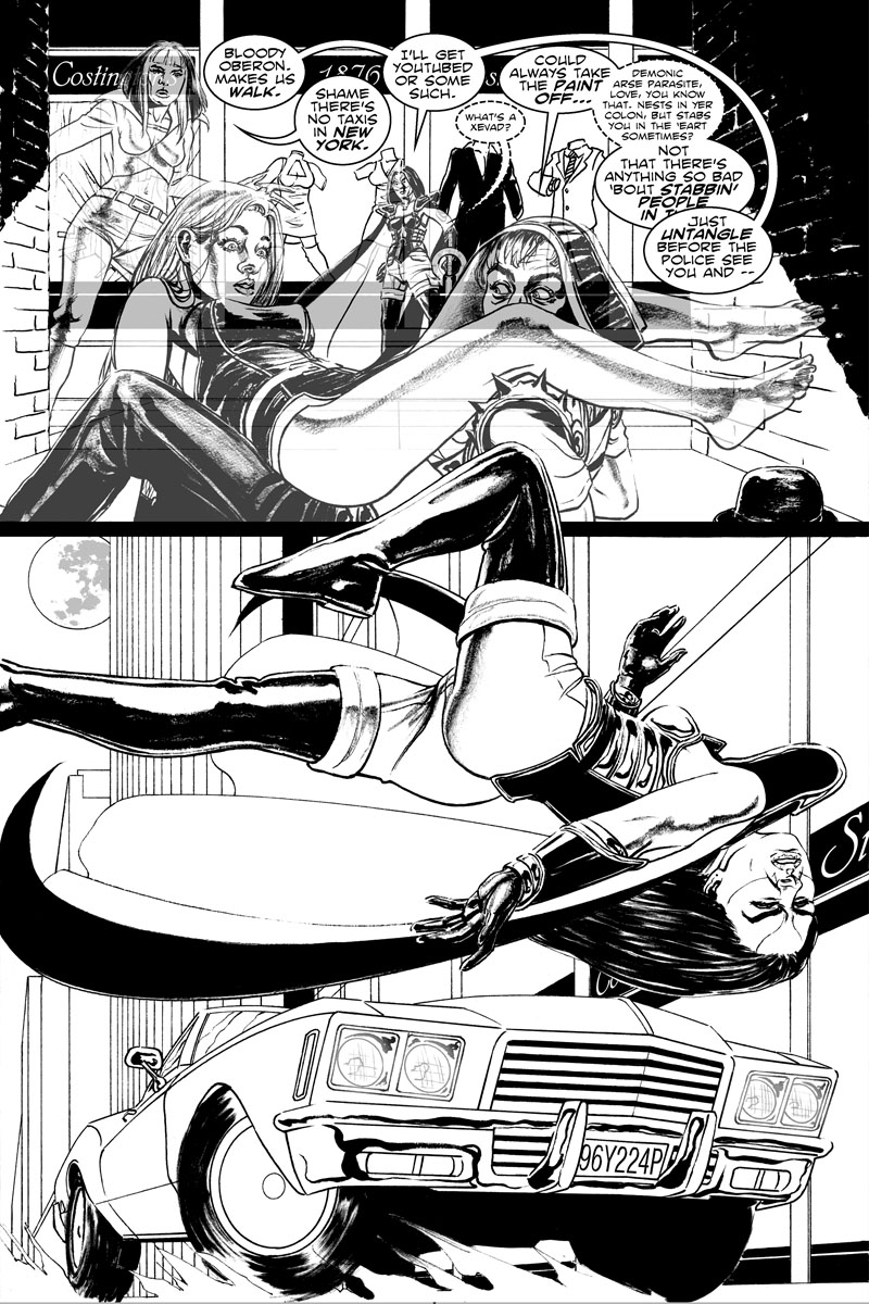 Issue 3, Page 17 - Lovestruck Meets Carstruck.