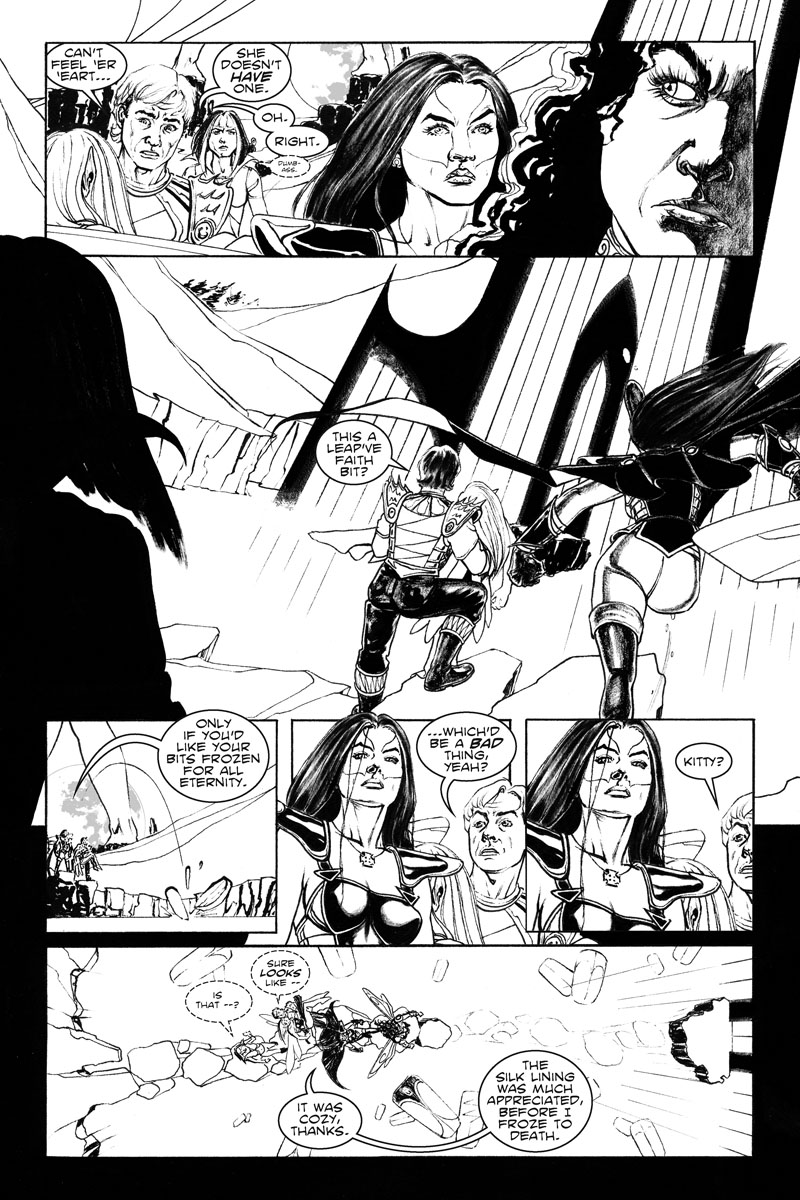 Issue 3, Page 11 - It Was Cozy, Before I Froze to Death.