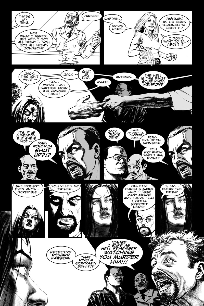 Issue 5, Page 19 - You Killed My Father.