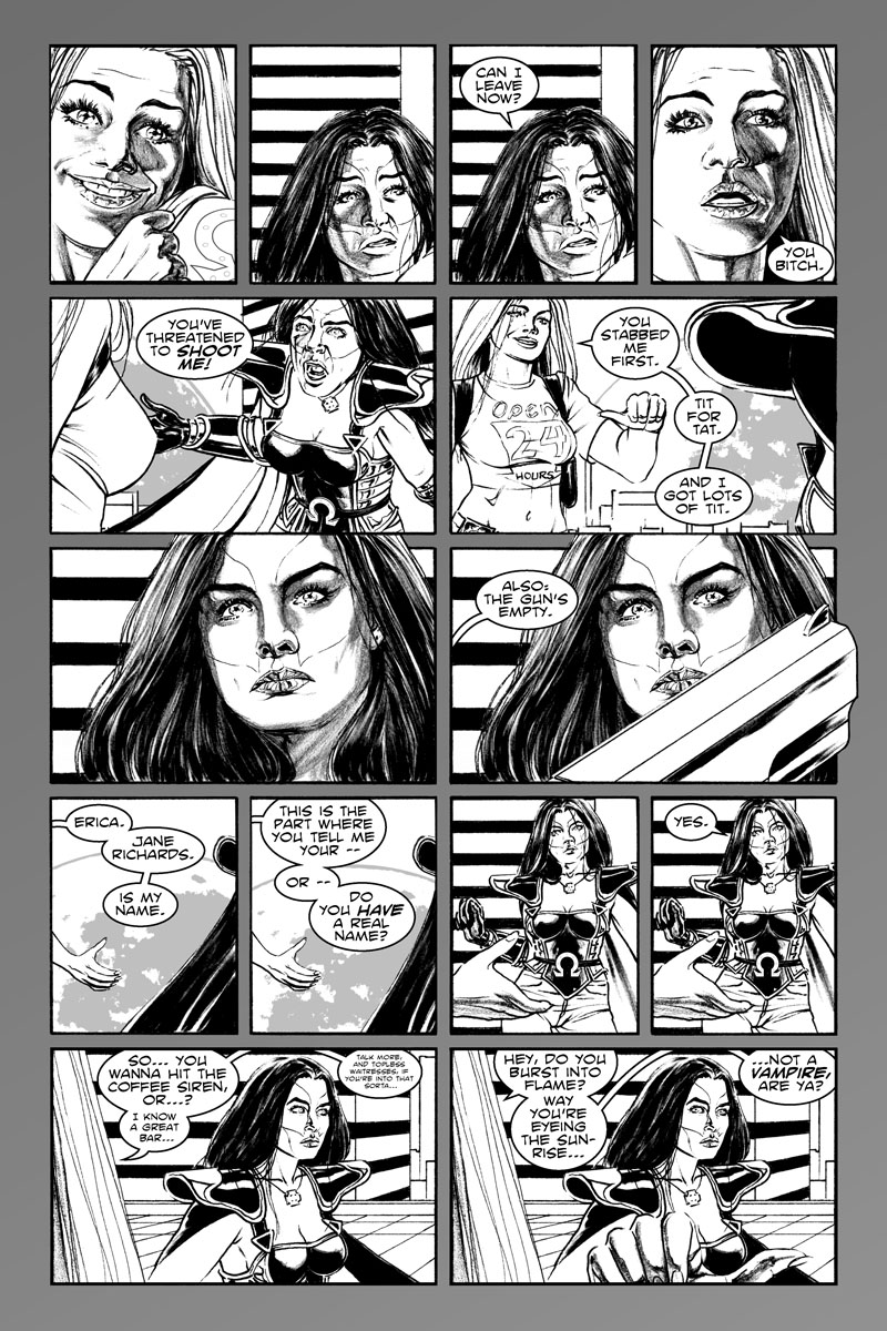 Issue 4, Page 2 - Tit for Tat.