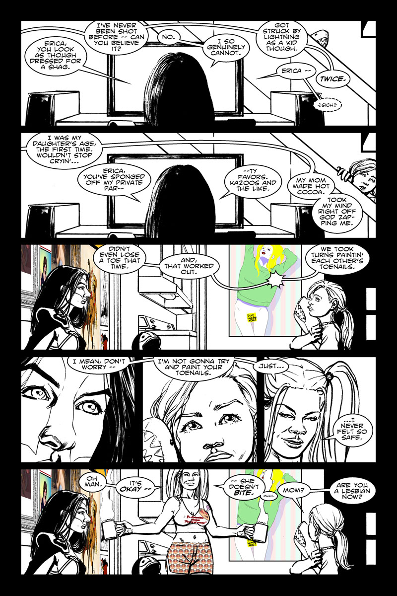 Issue 6, Page 4 - Are You a Lesbian?