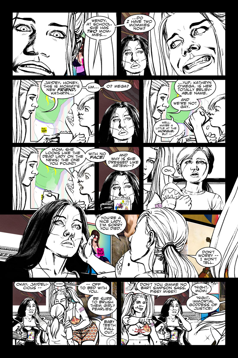 Issue 6, Page 5 - Do I Have Two Mommies?