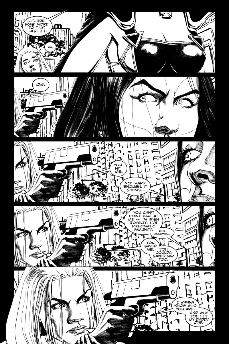Issue 3, Page 22 - Finger's on the Trigger.