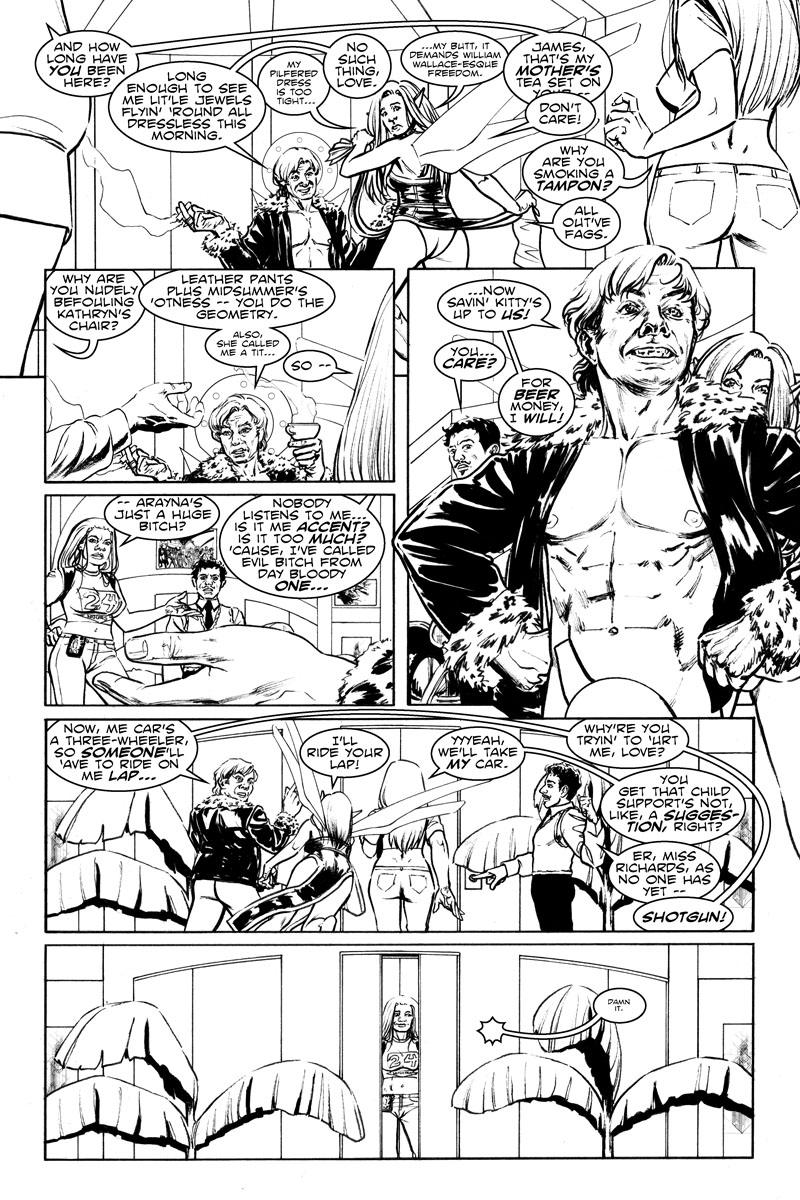 Issue 6, Page 12 - Team Bonding, Pants Optional