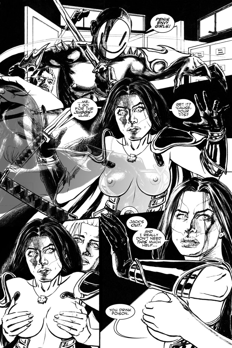 Issue 4, Page 19 - Bosom Buddies are the Tits.