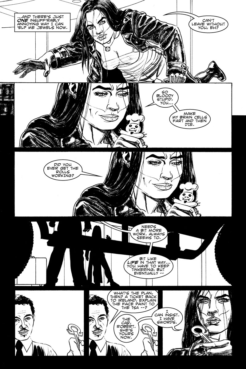 Issue 2, Page 16 - Stupid Hellsbury Doughmonster.