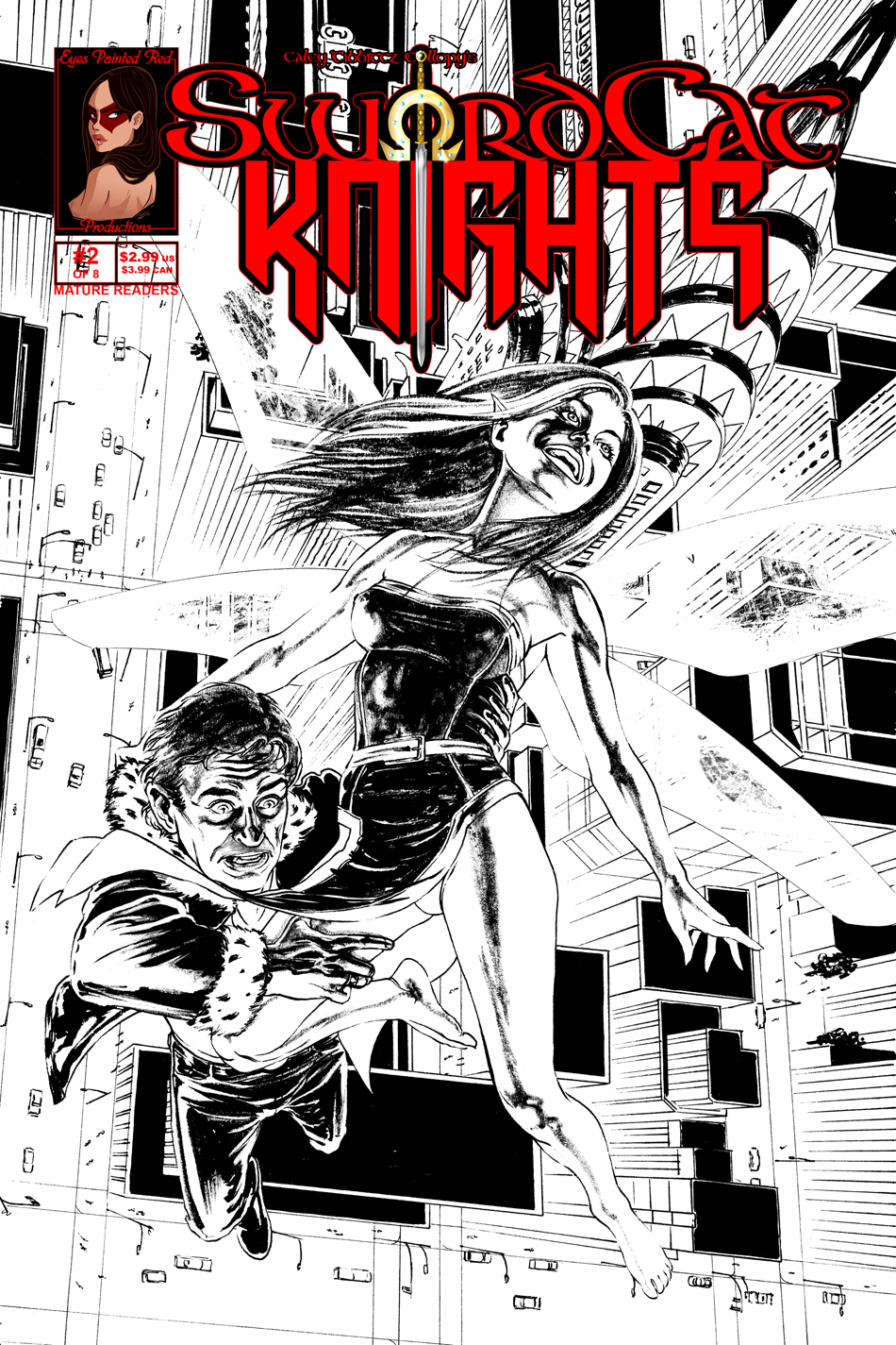 Issue 2 Cover - Up, Skirt.