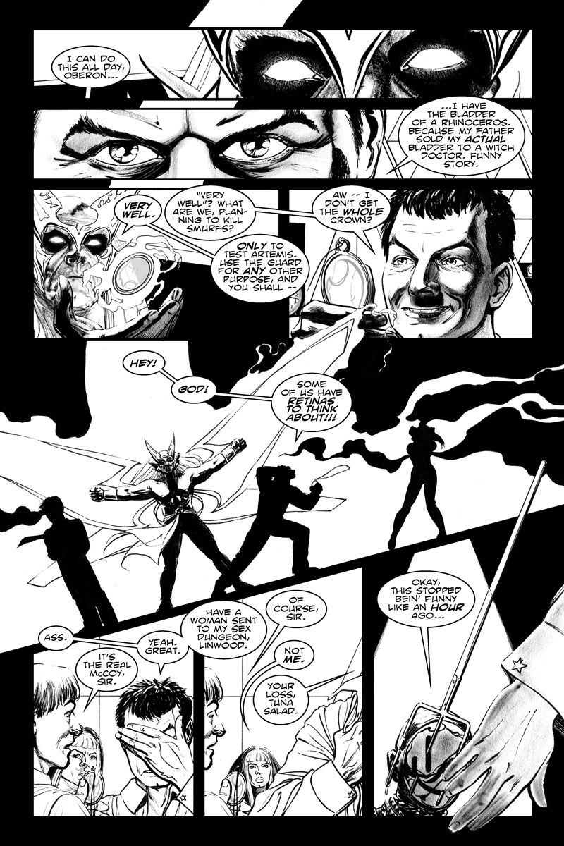 Issue 5, Page 15 - Planning to Kill Smurfs.