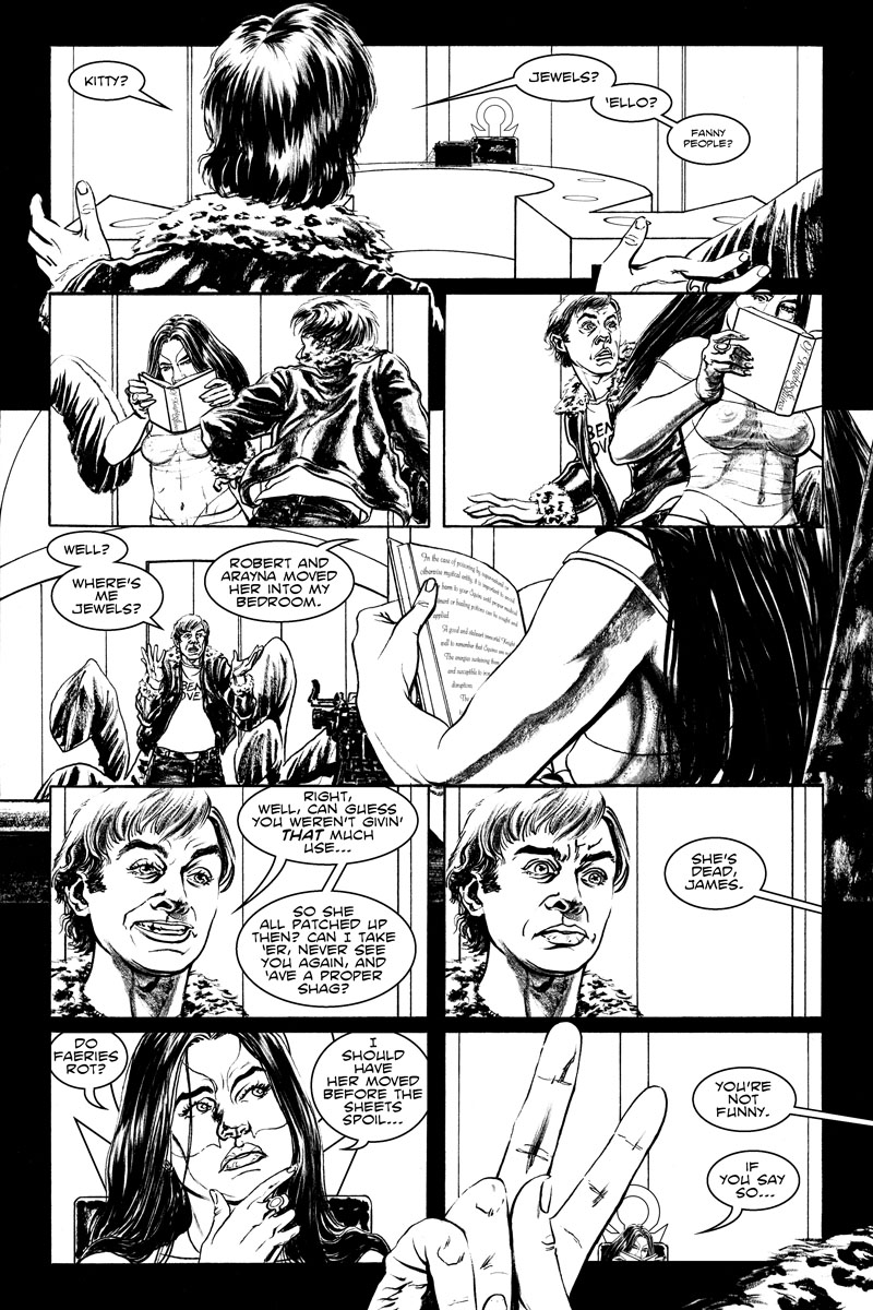 Issue 3, Page 3 - Do Faeries Rot?
