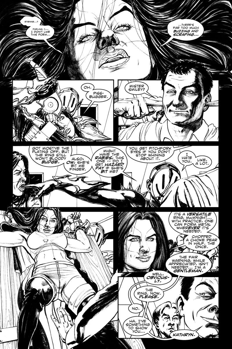 Issue 5, Page 7 - Gentleman Villain.