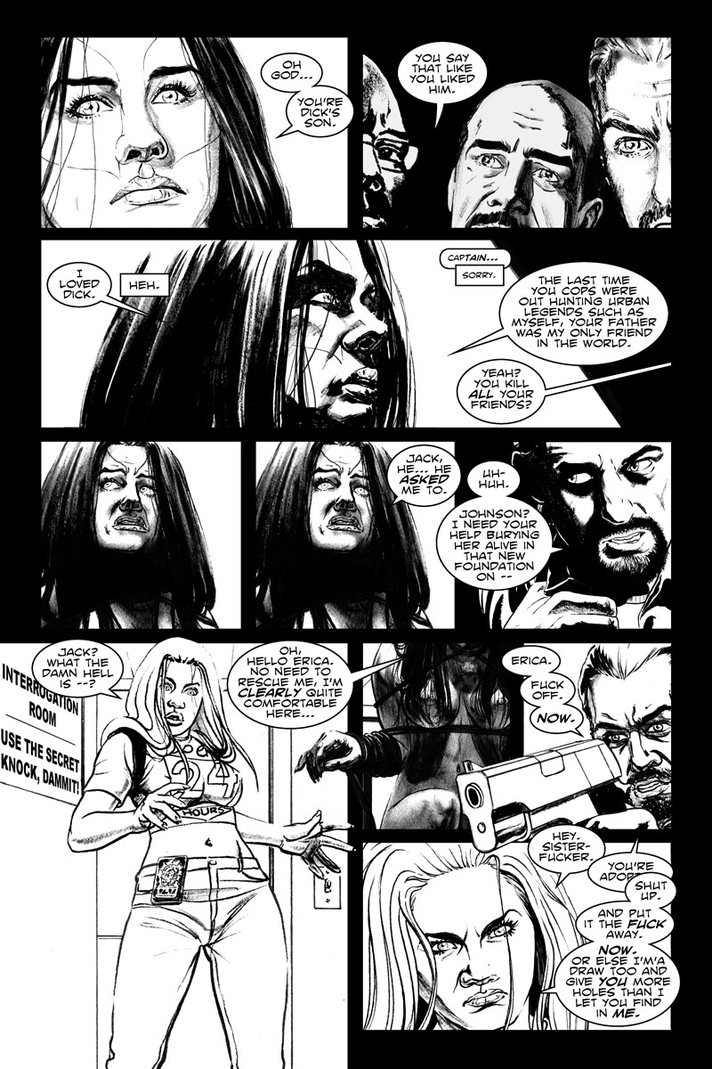 Issue 5, Page 20 - USE THE SECRET KNOCK, DAMMIT!