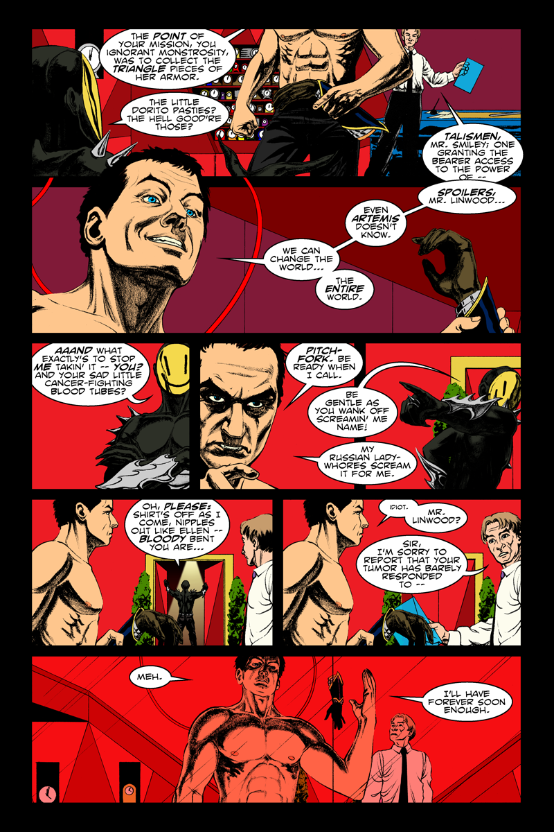 Issue 1, Page 20 - To Change the World.