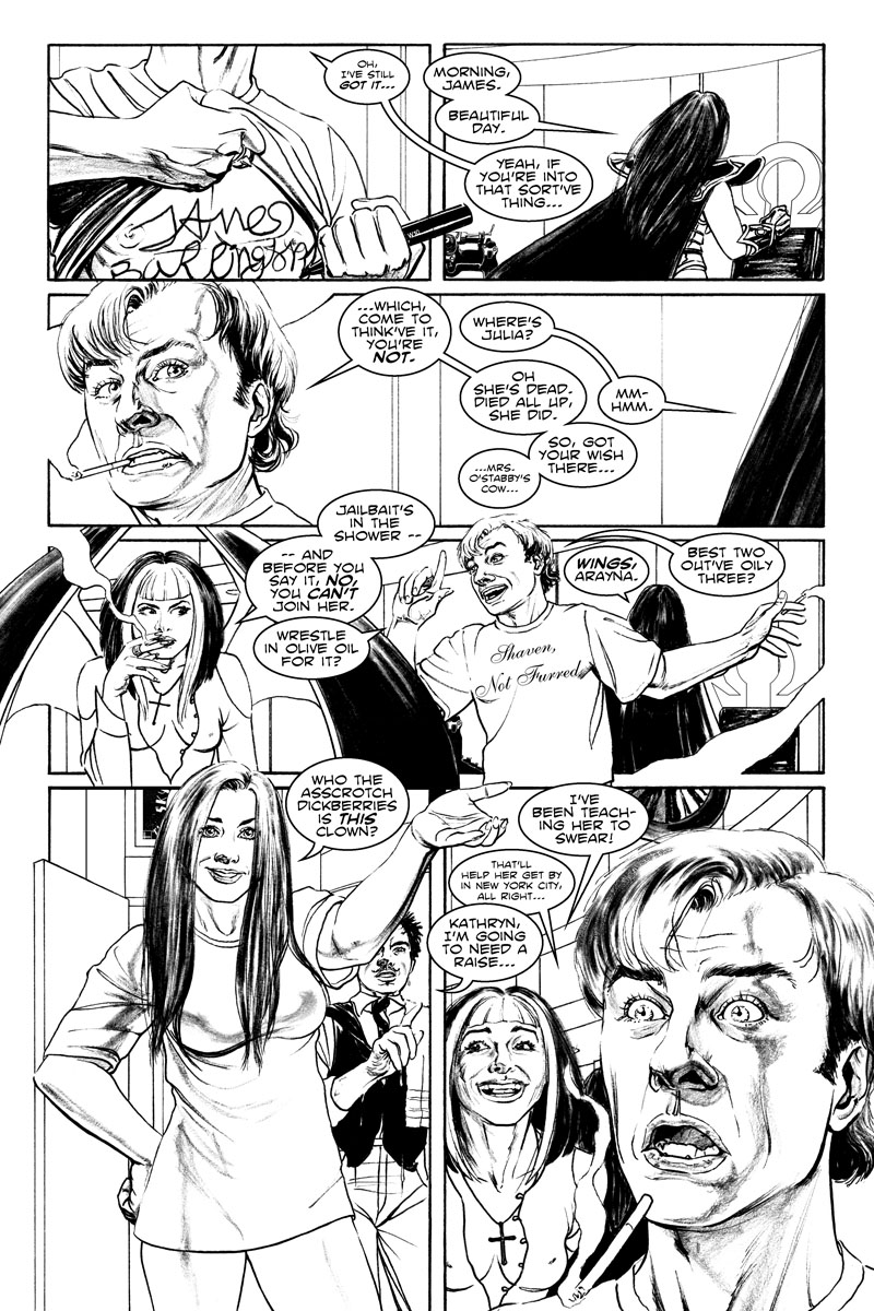 Issue 4, Page 6 - Asscrotch Dickberries!