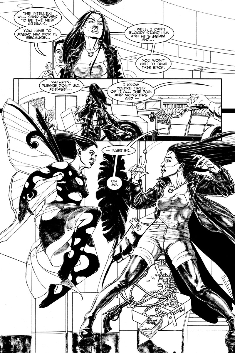 Issue 2, Page 17 - Pain and Monsters and Faeries -- Oh My!