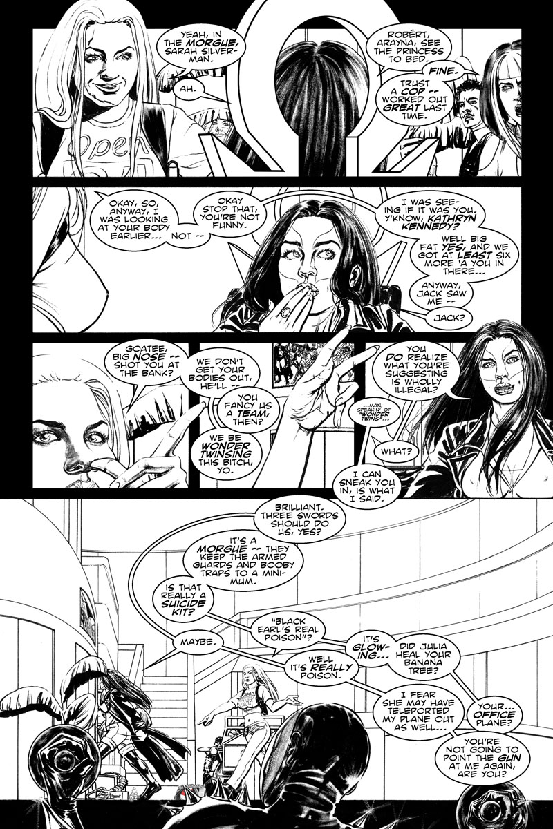 Issue 4, Page 15 - I Was Looking At Your Body...