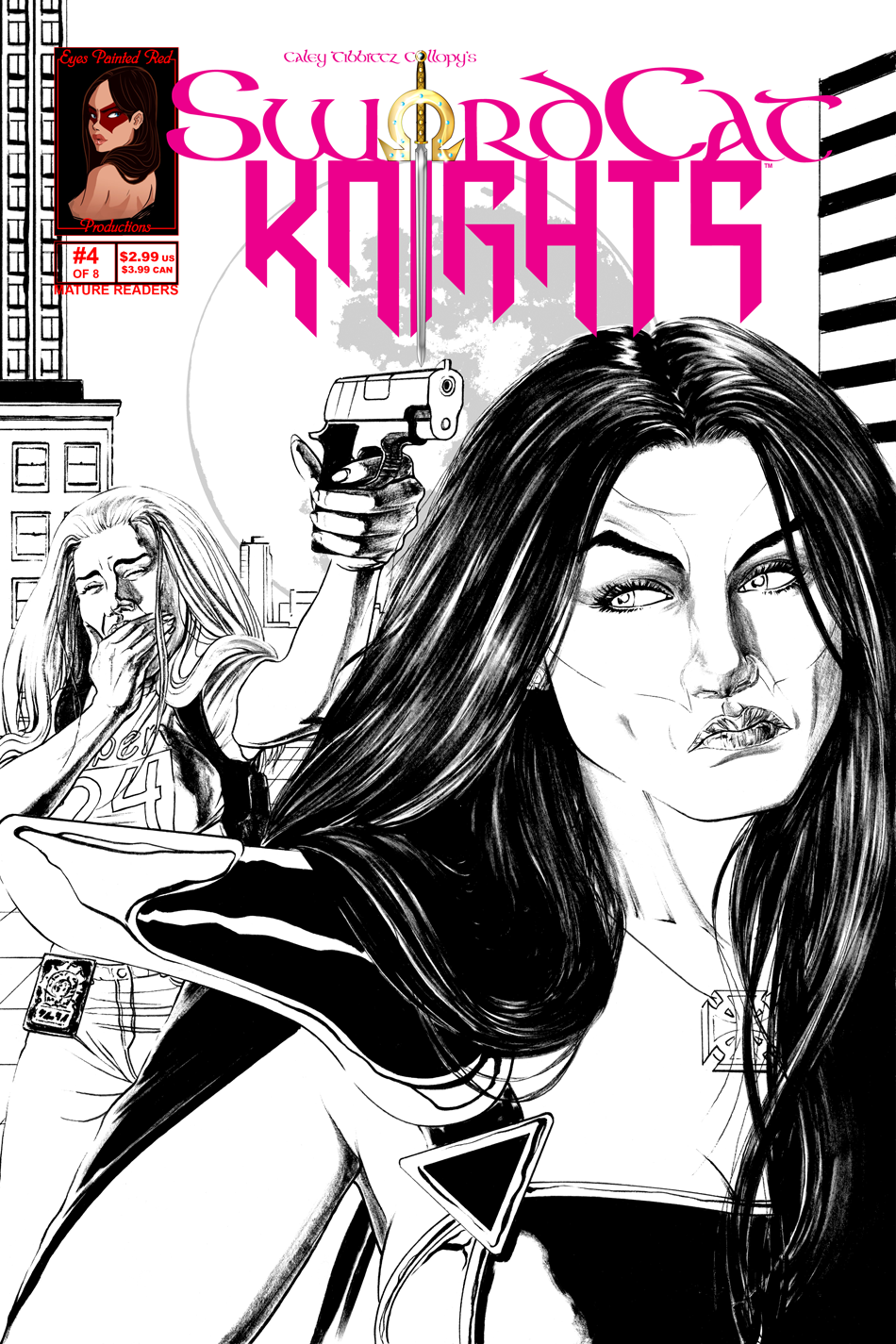 Issue 4 Cover - Worst. Lesbian Romance. EVER.