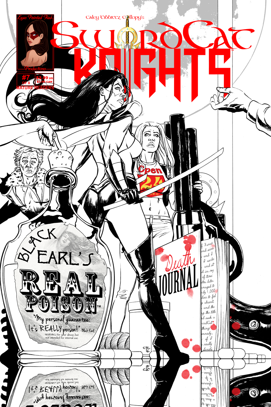 Iss. 7 Cover | SwordCat Princess